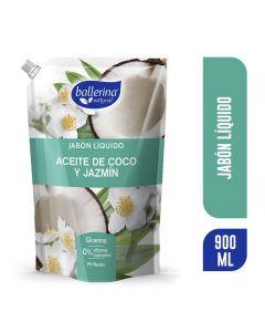 Jabón Líquido - Aceite de Coco y Jazmín 900 ML