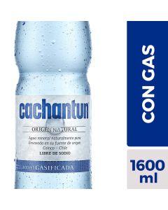 Agua Mineral con Gas 1,6 LT
