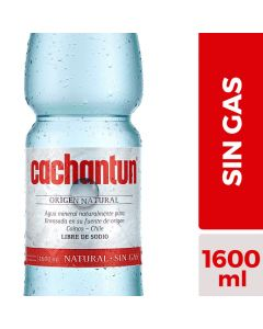 Agua Mineral sin Gas 1,5 LT