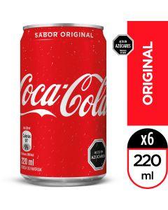 Bebida Lata Coca-Cola Original 220 ML