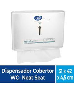 Dispensador Cobertor WC Metálico / Blanco