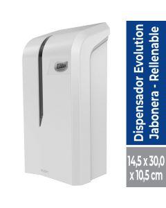 Dispensador Jabón Granel 800 ML Plástico / Blanco