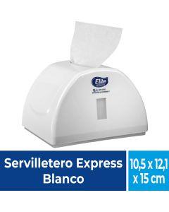Dispensador Servilleta Express  Plástico / Blanco