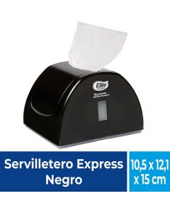 Dispensador Servilleta Express Plástico / Negro