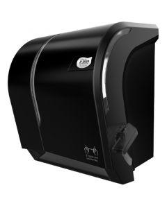 Dispensador Toalla de Papel Corte Manual C/ Palanca Plástico / Negro