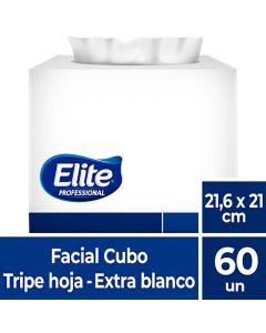 Facial H/T Extra Blanco Excellence 21,6 x 21 CM 60 HJS x 1 Pqte