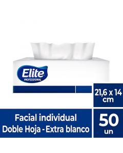 Facial H/D Extra Blanco Excellence 21,6 x 14 CM 50 HJS x 1 Pqte