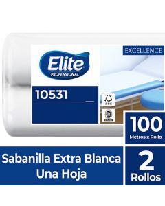 Sabanilla H/S Extra Blanca Excellence 100 MT x 2 Rollos