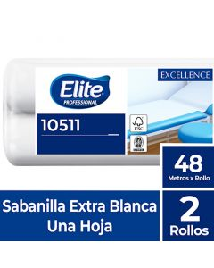 Sabanilla H/S Extra Blanca Excellence 48 MT x 2 Rollos