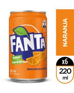 Bebida Lata Fanta 220 ML