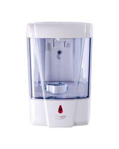 Dispensador Jabón Granel Automático con Sensor 700 ML Plástico / Blanco