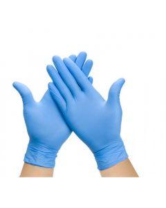 Guante Examinación Nitrilo Azul Sin Polvo 100 UND