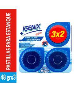 Pastilla Estanque WC Igenix 3 UND