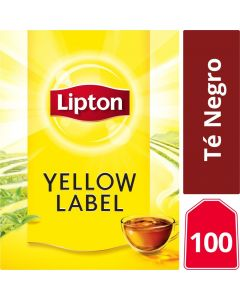 Té Negro Yellow Label 100 Bolsas