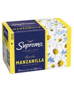 Té Hierbas Manzanilla 20 Bolsas