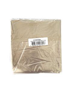 Bolsas de Basura Transparente 10 UND 70 X 90 CM (Espesor 28 µm)
