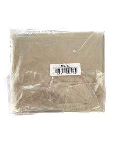 Bolsas de Basura Transparente 10 UND 80 X 110 CM (Espesor 28 µm)